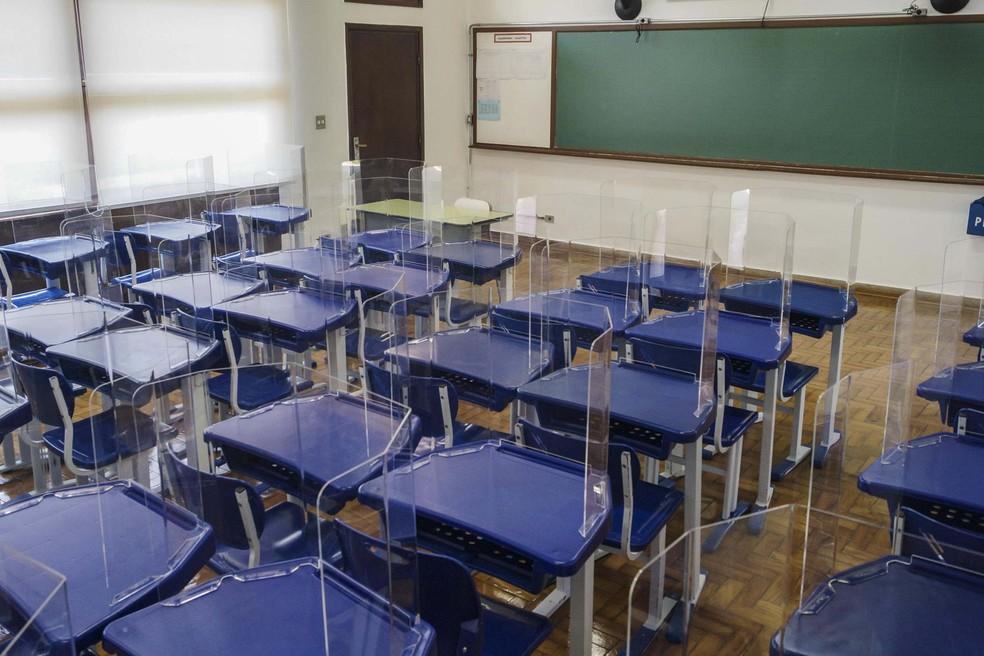 Volta às aulas presenciais em escolas particulares de São ...